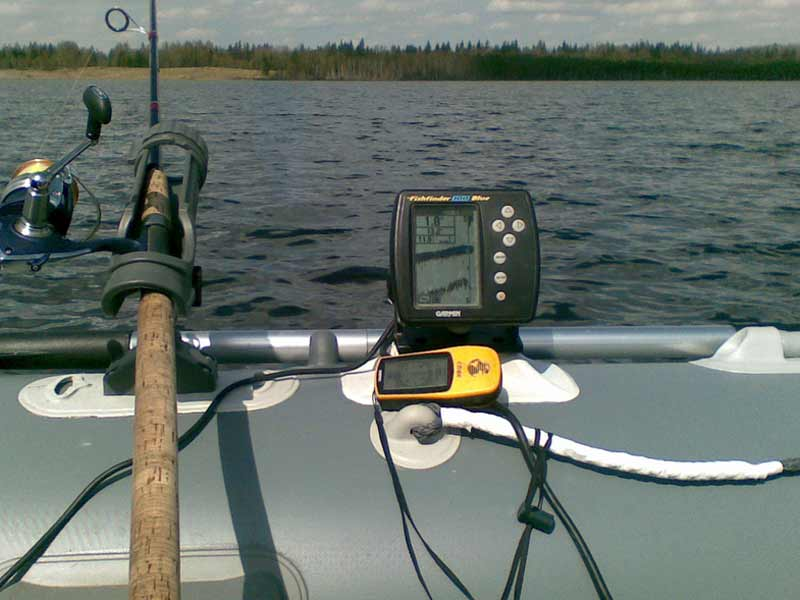 практик эхолот на лодке пвх