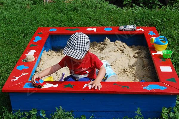 Детские песочницы сделать своими руками