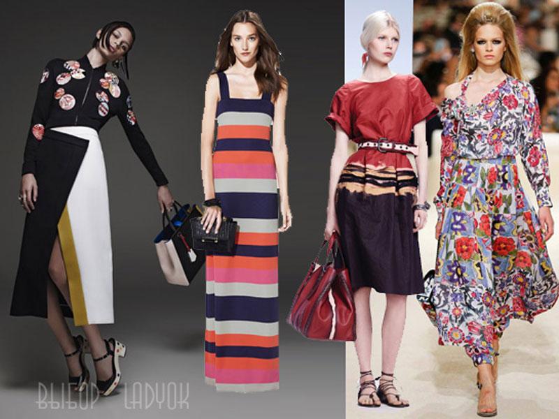3df59b45d130400 Модные платья весна-лето 2015