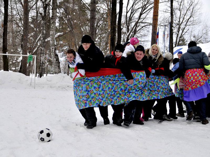 Конкурсы на природе зимой с детьми