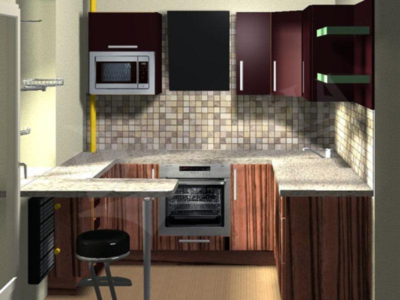 Кухни дизайн для небольших кухонь