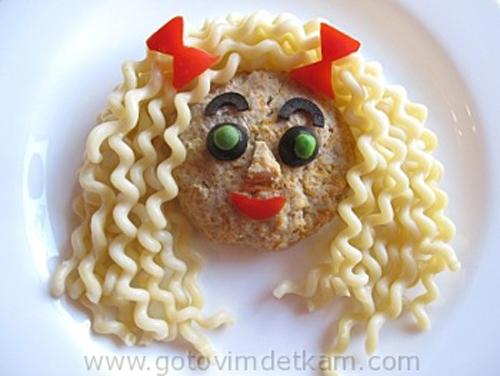 Мясное блюдо на день рождения ребенка
