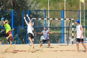 Всероссийские соревнования по пляжному гандболу
